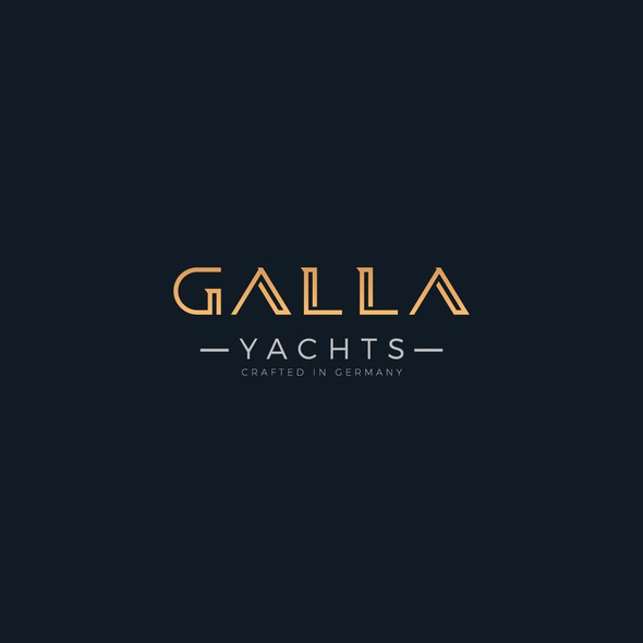 Yacht club logo with the title 'Logo design for Yachting Brand'