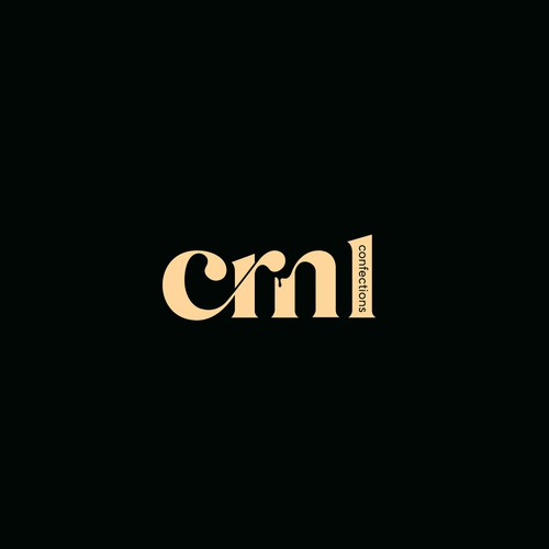 """Caramel logo with the title 'simple wordmark """"crml""""'"""