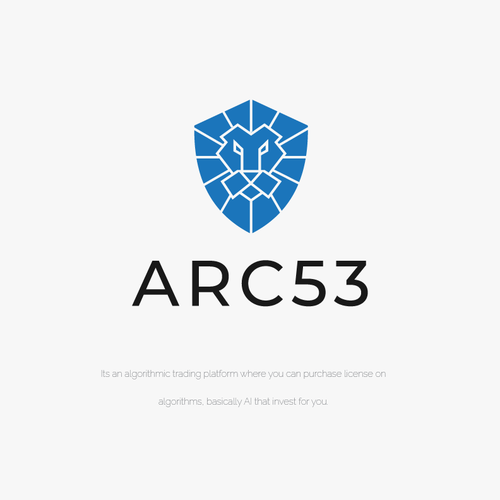 Shield logo with the title 'arc53'