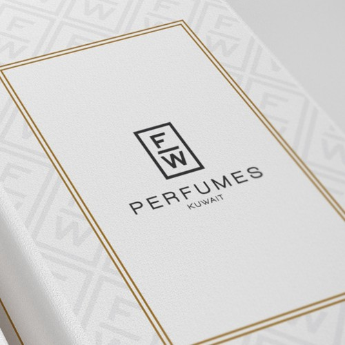 Kuwait design with the title 'Branding for FW Perfumes'