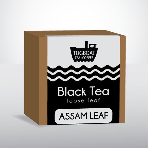 Water label with the title 'Label design for tea'