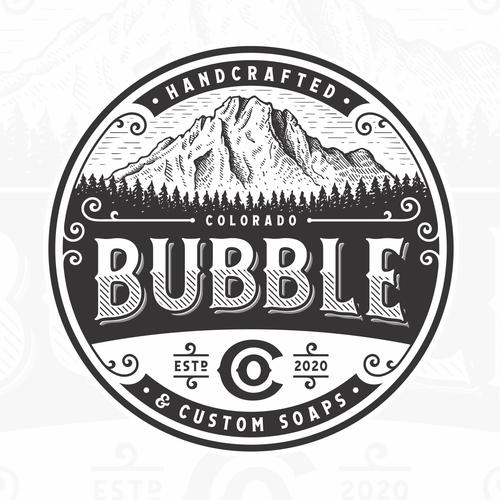 Bubble design with the title 'Bubble Co.'