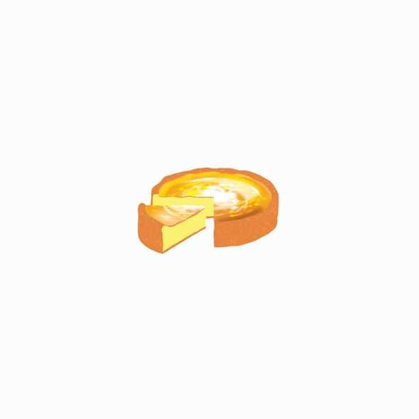 Caramel design with the title 'crypto token design'
