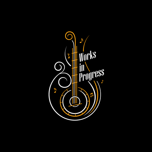 Music logo with the title 'Works in Progress'