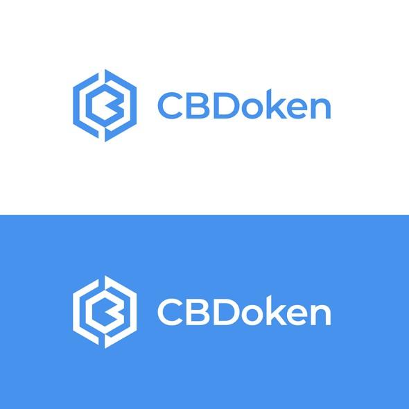 Acronym logo with the title 'CBDoken Logo'