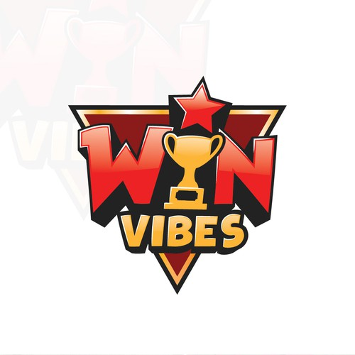 Trophy design with the title 'Win Vibes'