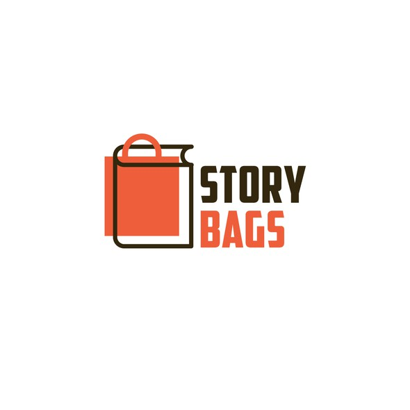 Bag logo with the title 'Story Bags'
