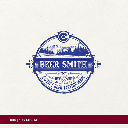 Beer logo with the title 'Beer Smith'