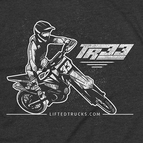 Bike t-shirt with the title 'T-shirt design'