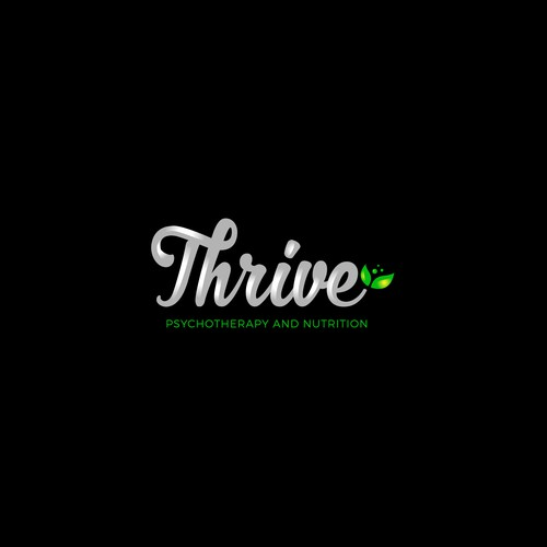 Thrive design with the title 'Thrive'