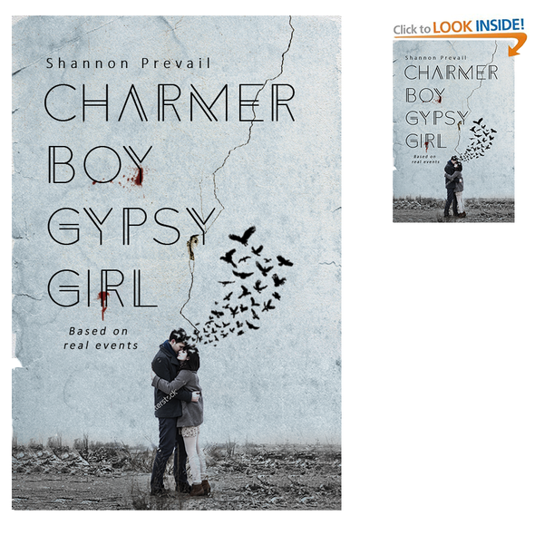 Death design with the title 'Charmer Boy Gypsy Girl'