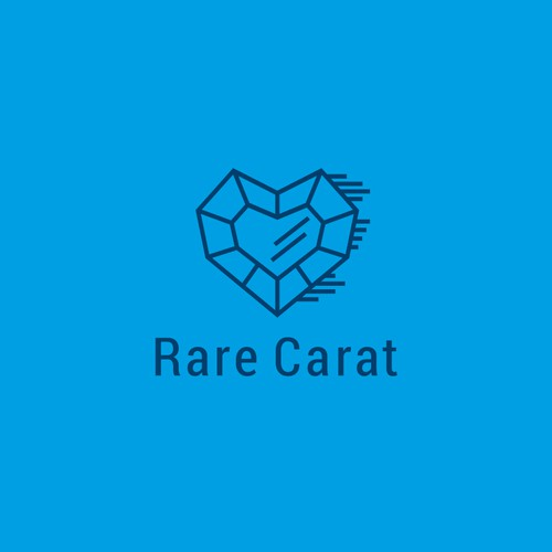 Jewelry design with the title 'Rare Carat'