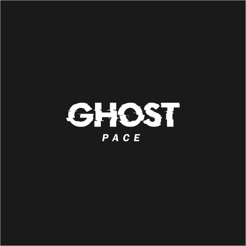 Augmented reality design with the title 'Ghost Pace'