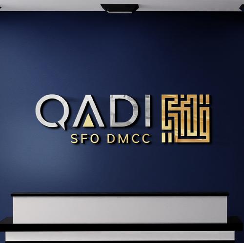 Luxury brand with the title 'QADI SFO DMCC'