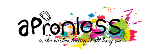 Colorful artwork with the title 'Header for Food Blog'