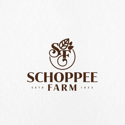 Premium brand with the title 'Farm logo'