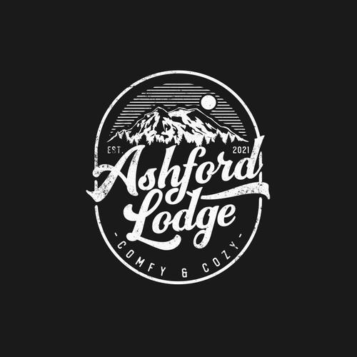 Rough logo with the title 'rough bold outdoor logo'
