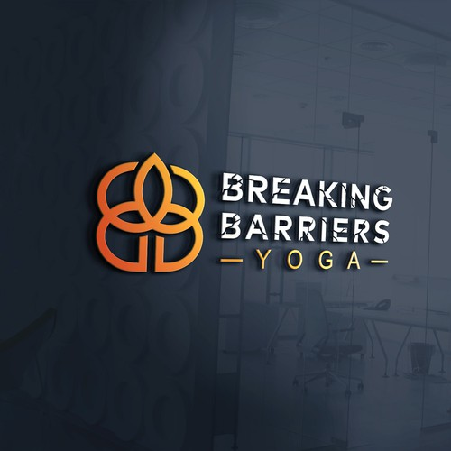 B design with the title 'Logo for yoga studio'