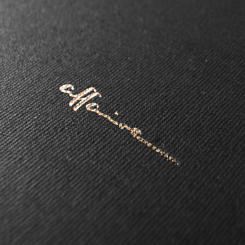 Handmade brand with the title 'Logodesign for affaire '