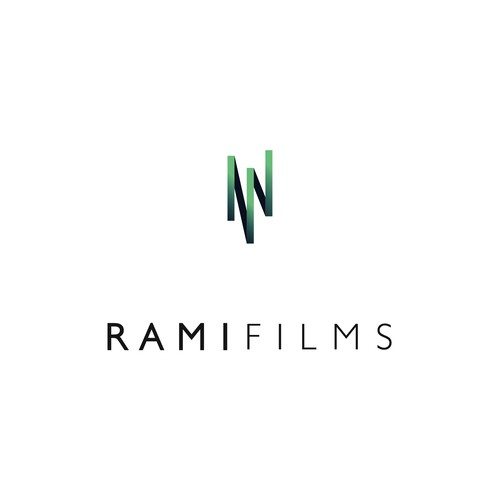 Tape design with the title 'Logo for Rami Films - a video production company'
