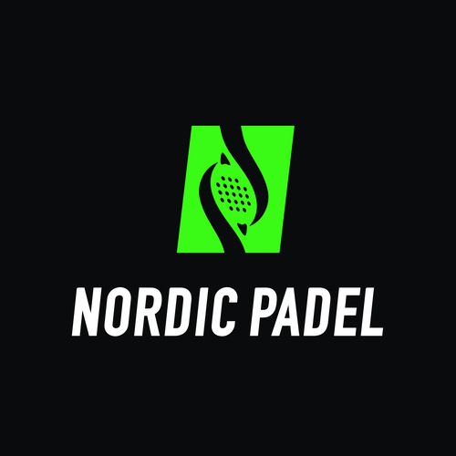 Sports brand with the title 'Logo design for Nordic Padel'