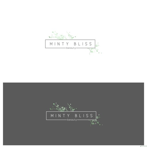 Studio logo with the title 'Minty Bliss Beauty'