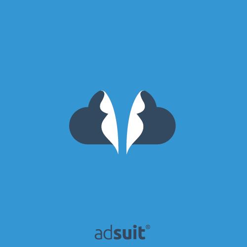 App logo with the title 'Logo Design for SaaS platform called AdSuit.'