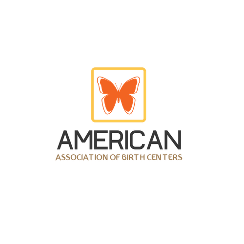 Birth design with the title 'American Association of Birth Centers'
