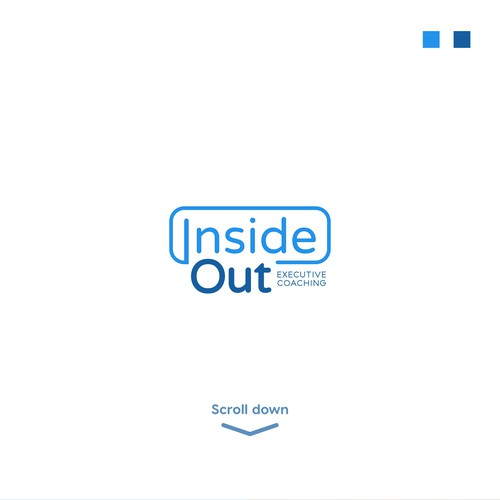 Executive logo with the title 'Inside Out logo'
