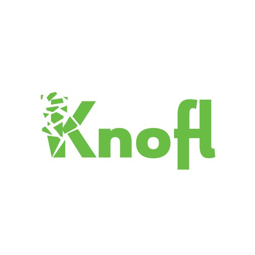 Explosion logo with the title 'Knofl Blasting Company'
