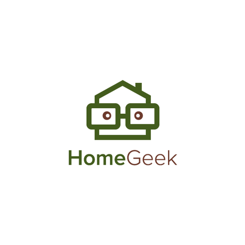Geeky design with the title 'HomeGeek'
