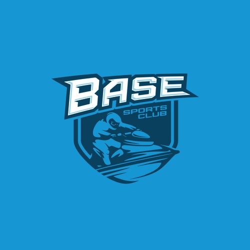 Club design with the title 'Base Sports Club Brazil'