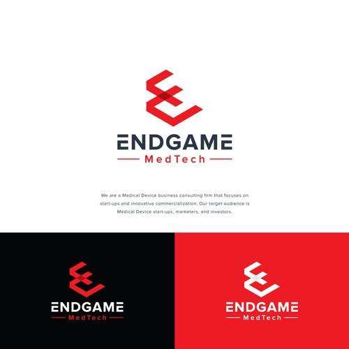 E logo with the title 'Endgame Logo'