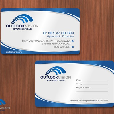 Eye-catching Stationery for Outlook Vision
