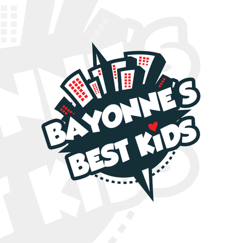 Summer camp design with the title 'Bayonne's best kids'