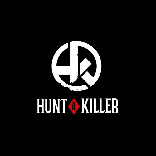 Killer logo with the title 'HUNT A KILLER'