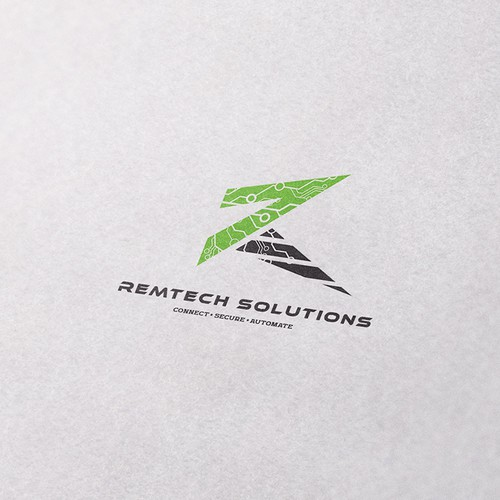 Automation logo with the title 'Concept for Remtech Solutions'