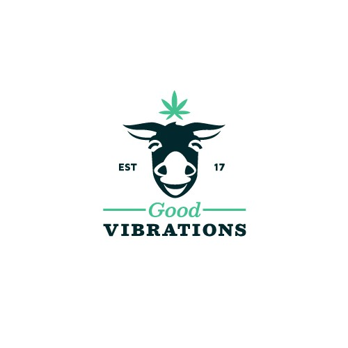 Charming logo with the title 'Good Vibrations'