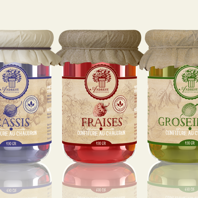 ORGANIC JAM : design a brand for USA and Europe markets