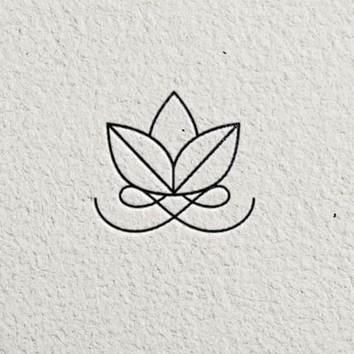 Sleek logo with the title 'Organic soap brand'
