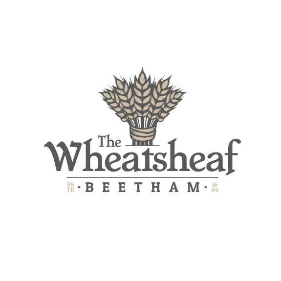 Inn design with the title 'The Wheatsheaf Beetham'