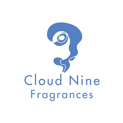 Number 9 logo with the title 'Logo for a fragrance brand'