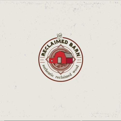 Authentic logo with the title 'Reclaimed Barn'