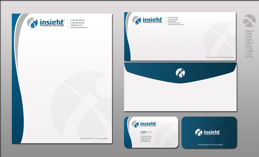 Business cards, Letterhead and envelopes Design layout needed ...