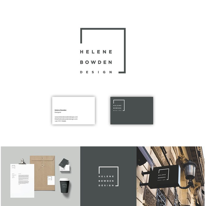 Create a strong visual identity for an upcoming interior for Interior design logo ideas