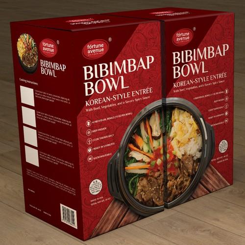 Project For Costco Presentation Bibimbap Bowl Product