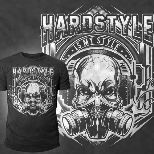 bc9ad7a3 Hardstyle is my style T-Shirt Motiv | T-shirt contest