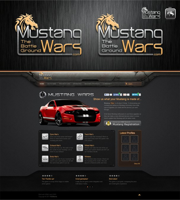 Winning design by ♕adihb