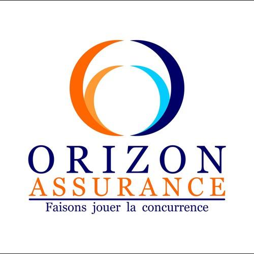 creer le logo pour orizon assurance