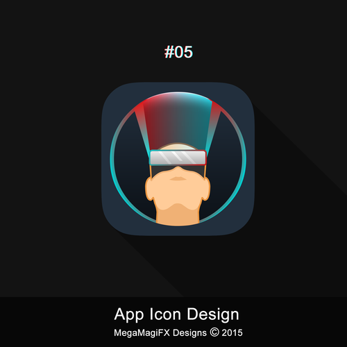 Icon For Virtual Reality App Icon Or Button Contest